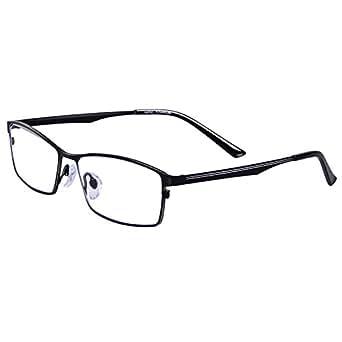 3fe60975b1f Amazon.com  Pure Titanium Glasses Men s Glasses Ultra-light Frame ...