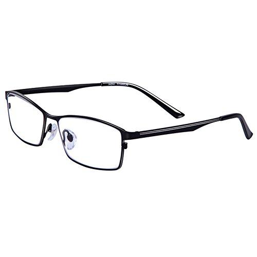 (Pure Titanium Glasses Men's Glasses Ultra-light Frame)