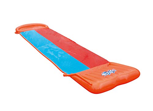 Bestway-H2OGO-Double-Lane-Inflatable-Water-Slide-Includes-Speed-Ramp-Splash-Landing-Great-Outdoor-Summer-Toy-for-Family-Fun-Multicolor