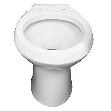 Niagara N2225RB Flapperless 1.28 GPF Toilet with Round Bowl, White ...