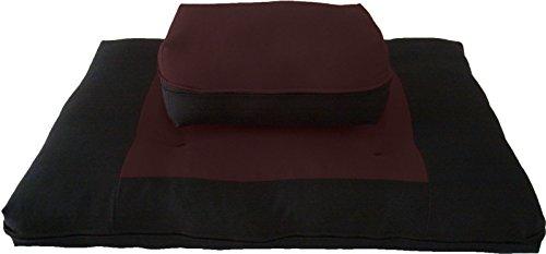 Brand-New-Zabuton-Zafu-Set-Yoga-Meditation-Seat-Cushions-Kneeling-Sitting-Supporting-Exercise-Pratice-Zabuton-Zafu-Cushions