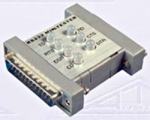 Rs 232 Tester - Allen Tel Products ATMT25-MF RS232 Male To Female Mini-Tester