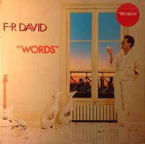 F.R. David - Words (1982) / Vinyl Record [vinyl-Lp] - Zortam Music