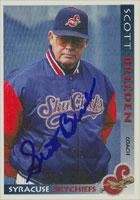 Scott Breeden Syracuse Skychiefs - Blue Jays Affiliate 1998 Grandstand Autographed Card - Minor League Card. This item comes with a certificate of authenticity from Autograph-Sports. Autographed