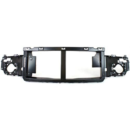 (New Front Grille Header Panel For 2005-2007 Ford F-Series Super Duty Opening Panel Reinforcement, Abs Plastic FO1220240)