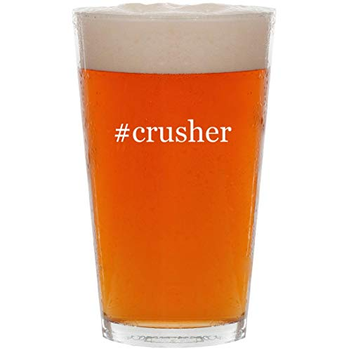 #crusher - 16oz Hashtag All Purpose Pint Beer Glass for sale  Delivered anywhere in USA