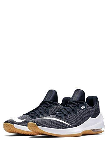 release date 8e988 6be36 Galleon - Nike Men s Air Max Infuriate 2 Low Light Carbon White-Dark  Obsidian Basketball Shoes (10.5 D US)