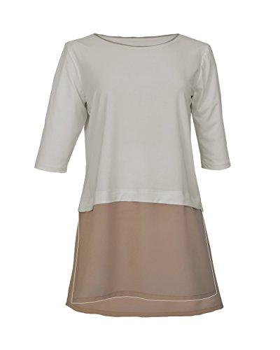 Miss Pepa - Camiseta Lazar - Color Nude Marfil