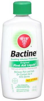 Bactine Original First Aid Liquid - 4 oz, Pack of 2