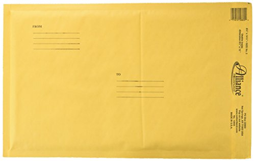 Alliance Rubber Company Kraft Bubble Mailers (ALL10805)
