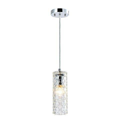 Glass Pendant Lighting Mini Chandelier 1 Light Ceiling Light Fixture Kitchen ()