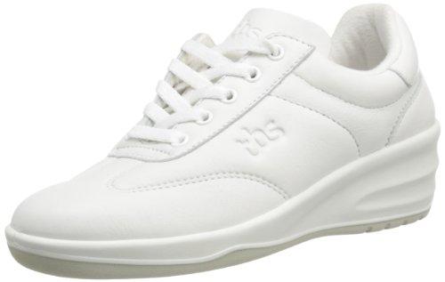 TBS Dandys - Zapatos de cuero para mujer Blanco (Blanc (4707 Blanc))