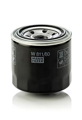 Mann Filter W 811/80 Original Filtro de Aceite, para automoviles y vehiculos de utilidad