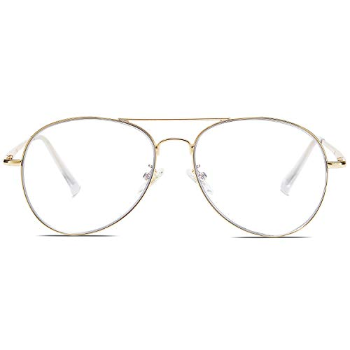 SOJOS Classic Aviator Mirrored