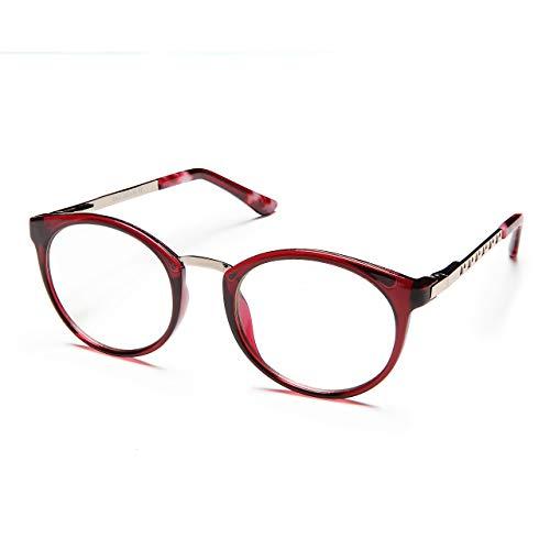 Juliet Frame Accessory - PROSPEK Kids Computer Glasses - Blue Light Blocking Glasses - Juliet (Red)