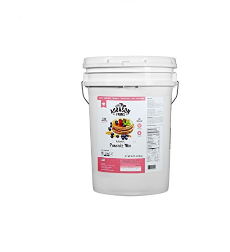 28lb Pail (Augason Farms Buttermilk Pancake Mix (28 lb. pail))