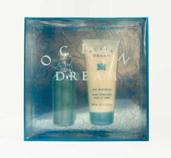 Ocean Dream by Designer Parfums Ltd. for Women - 2 pc Gift Set 3.0oz edt Spray, 6.7oz body ()