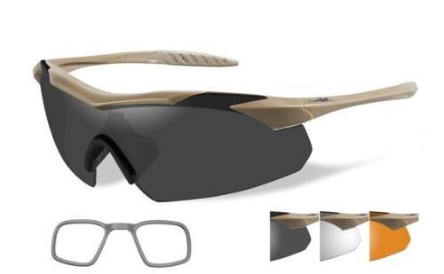 WILEY X Sunglasses VAPOR Tan Frame - X Prescription Sunglasses Wiley