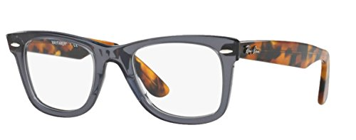 Ray-Ban RX5121 Eyeglasses (50 mm, Grey w/Tortoise - Ray Bans Frame
