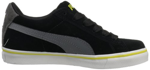 Puma Puma S Vulc Jr Black White Youths Trainers Black White