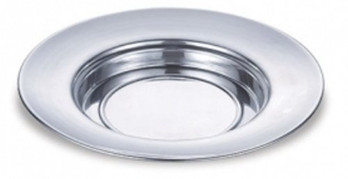 Polished Aluminum Bread Plate (Communion Bread Plate)