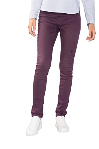 ESPRIT 096ee1b006, Jeans Mujer Rojo (Bordeaux Red)
