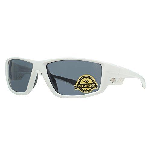 duck commander Men's D856 WH1 Polarized Sunglasses, Shiny - Sunglasses Commander Duck