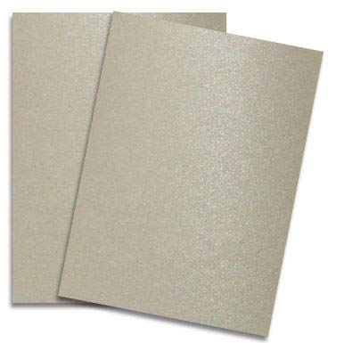 Shimmer Sand 8-1/2-x-11 32T Lightweight Multi-use Paper 200-pk - PaperPapers 2pBasics 118 GSM (32/80lb Text) Letter Size Everyday Metallic Paper for Professionals, Designers, Crafters and DIY by 2pBasics