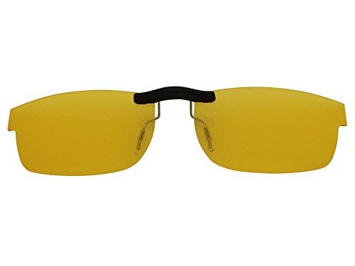 Custom Fit Polarized CLIP-ON Sunglasses For Oakley Metal Plate (55) OX5038 55X18 HD - Sunglasses Affiliate