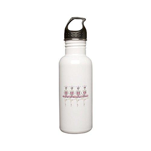 - Stainless Water Bottle 0.6L Dancing Ballarina Skeletons En Pointe