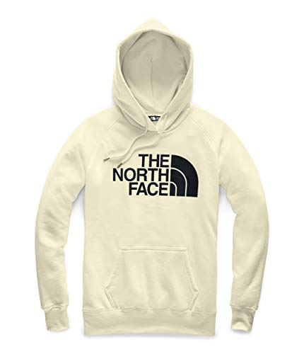 - The North Face Women's Half Dome Pullover Hoodie Vintage White/TNF Black Large