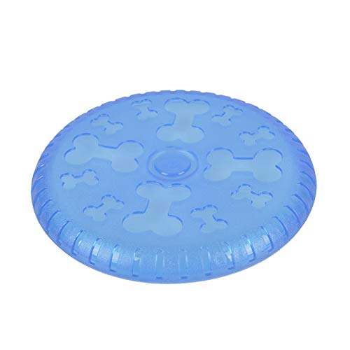 Dougez Dog Frisbees Nearly Indestructible Outdoor Flying Disc Dogs Toy
