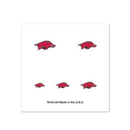 - Arkansas Razorbacks Fingernail Tattoos - 4 Pack