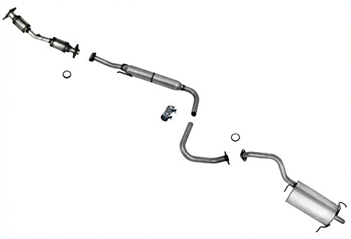 Nissan Sentra Exhaust System (Muffler Exhaust Pipe Catalytic Converter and Gasket Exhaust System for Nissan Sentra 07-12 2.0L)