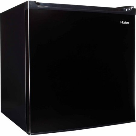 Haier 1.7 cu ft Refrigerator | Keeps your Food and Drinks Nice and Cold - Black