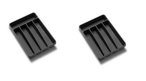 Madesmart Small Cutlery Tray Granite