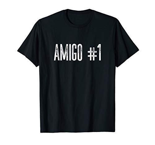 Amigo #1 Funny Halloween Group Costume Idea for Friends]()