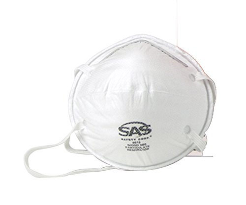 SAS Safety 8615 N95 Economy Particulate Respirator Mask, ...