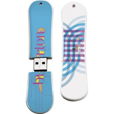 Burton Feather 11 SnowDrive USB Flash Drive, 16GB