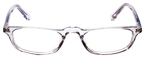 Hackett London Designer Reading Glasses HEB073 in Crystal with Anti Reflective Coated Lenses +1.75