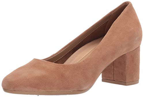 Aerosoles Women's Silver Star Pump, Light tan Suede, 6.5 W US