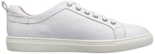 206 Collective Women's Lemolo Lace-up Fashion Sneaker White Leather