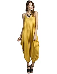 Amazon.com: Yellow - Jumpsuits, Rompers & Overalls / Clothing ...