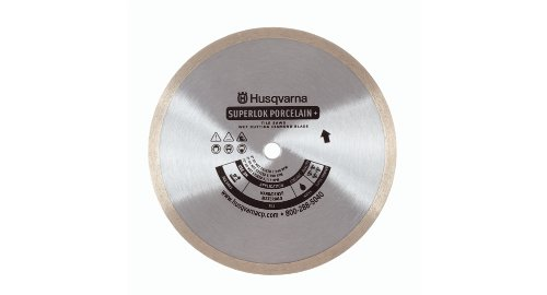 Husqvarna Construction Products 542761278 10 inch by 060 1 Inch Superlok Porcelain+ Tile Diamond Blade by Husqvarna