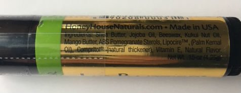 Bundle of 5 - Honey House Naturals Lip Butter Tubes - Fruit Variety Pack by Honey House Naturals (Image #3)
