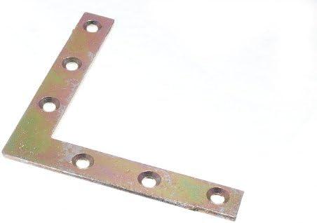 YZP STEEL 2 x FLAT CORNER BRACE//BRACKET 100MM 4
