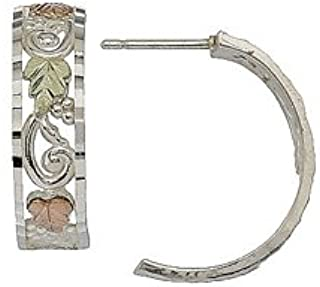product image for Black Hills Silver Hoop Earrings