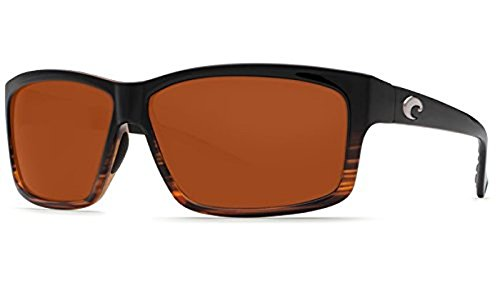 Costa Cut Sunglasses Coconut Fade / Copper Glass 580G & Neoprene Classic - Costa Cut