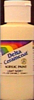 Delta Ceramcoat Light (Bulk Buy: Delta Ceramcoat Acrylic Paint 2 Ounces Naphthol Red Light/Semi Opaque 2000-2409 (6-Pack))
