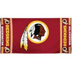 WinCraft NFL Washington Redskins Towel30x60 Beach Towel, Team Colors, One Size